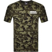 Product Image for Puma Core T Shirt Camoflauge