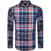 Product Image for Gant Oxford Heritage Long Sleeved Shirt Blue