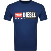 Product Image for Diesel T Diego T Shirt Blue