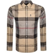 Product Image for Barbour Sutherland Check Long Sleeved Shirt Beige
