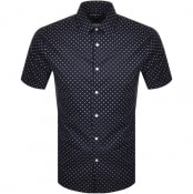 Product Image for Michael Kors Dot Short Sleeve Shirt Navy