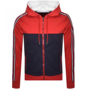 Product Image for Michael Kors Full Zip Hoodie Red
