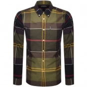 Product Image for Barbour Sutherland Check Long Sleeved Shirt Green