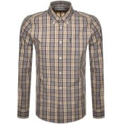Product Image for Barbour Tartan 17 Check Long Sleeved Shirt Beige