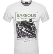 Product Image for Barbour International Logo T Shirt White