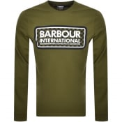 Product Image for Barbour International Long Sleeve T Shirt Green