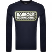 Product Image for Barbour International Long Sleeve T Shirt Navy
