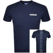 Product Image for Napapijri S-Surf Short Sleeve T Shirt Navy