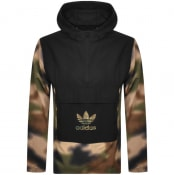 Product Image for adidas Originals Camo Pullover Jacket Camouflauge