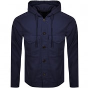 Product Image for Pretty Green Hooded Overshirt Navy