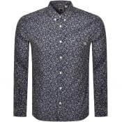 Product Image for Pretty Green Japanese Print Shirt Navy