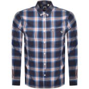 Product Image for Pretty Green Check Shirt Navy