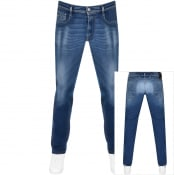 Product Image for Replay Anbass Slim Fit Hyperflex Jeans Blue