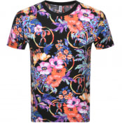 Product Image for Moschino Swim Short Sleeve T Shirt Black