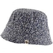 Product Image for Pretty Green Japanese Print Bucket Hat Navy