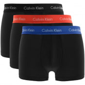 Product Image for Calvin Klein Underwear 3 Pack Boxer Trunks Black