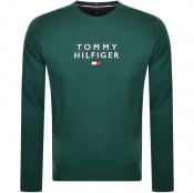 Product Image for Tommy Hilfiger Crew Neck Sweatshirt Green