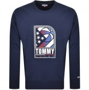 Product Image for Tommy Jeans Basketball Sweatshirt Navy