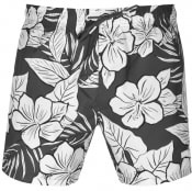 Product Image for BOSS Piranha Floral Swim Shorts Grey