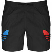 Product Image for adidas Originals Tricol Swim Shorts Black