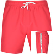 Product Image for Calvin Klein Logo Swim Shorts Pink