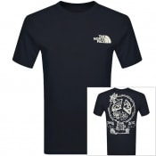 Product Image for The North Face Bottle Source T Shirt Navy