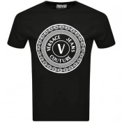 Product Image for Versace Jeans Couture Slim Logo T Shirt Black