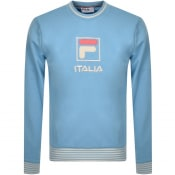 Product Image for Fila Vintage Empire Crew Sweatshirt Blue