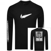 Product Image for Nike Sophy Hollington Long Sleeve T Shirt Black