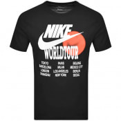Product Image for Nike Crew Neck World Tour T Shirt Black
