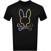 Product Image for Psycho Bunny Sheffield Logo T Shirt Black