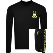 Product Image for Psycho Bunny Jasper Long Sleeve T Shirt Black