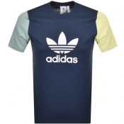 Product Image for adidas Originals Trefoil T Shirt Navy