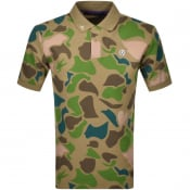 Product Image for Billionaire Boys Club Short Sleeved Polo Khaki