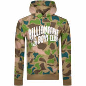 Product Image for Billionaire Boys Club Logo Hoodie Khaki