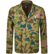 Product Image for Billionaire Boys Club Camouflage Jacket Green