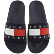 Product Image for Tommy Jeans Flag Pool Sliders Navy