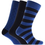 Product Image for Gant Three Pack Socks Blue