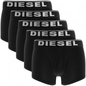 Product Image for Diesel Underwear Damien Five Pack Boxers Black