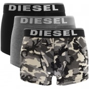 Product Image for Diesel Underwear Damien Triple Pack Boxers Black