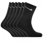 Product Image for Nike Six Pack Socks Black
