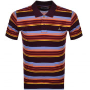 Product Image for Vivienne Westwood Classic Polo T Shirt Burgundy