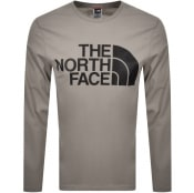 Product Image for The North Face Standard Long Sleeve T Shirt Grey