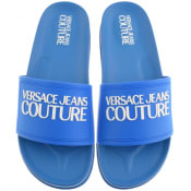 Product Image for Versace Jeans Couture Logo Sliders Blue