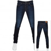 Product Image for Diesel Sleenker 009EY Skinny Fit Jeans Navy