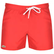 Product Image for Lacoste Swim Shorts Red