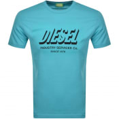 Product Image for Diesel T Diegos Short Sleeved T Shirt Blue