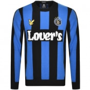 Product Image for Lyle And Scott X Lovers FC Stripe Jumper Blue