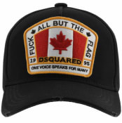 Product Image for DSQUARED2 Canada Patch Baseball Cap Black