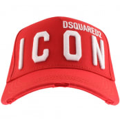 Product Image for DSQUARED2 Icon Baseball Cap Red